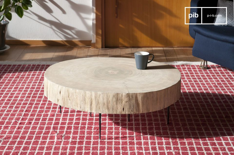 The Natural Luka tree trunk coffee table