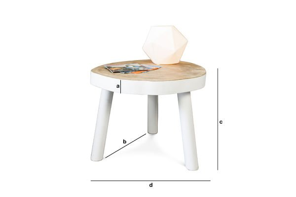 Product Dimensions Nederland Coffee Table