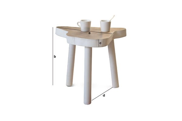 Product Dimensions Nederland occasional table