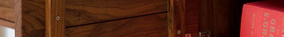 Material Details Neliö walnut sideboard