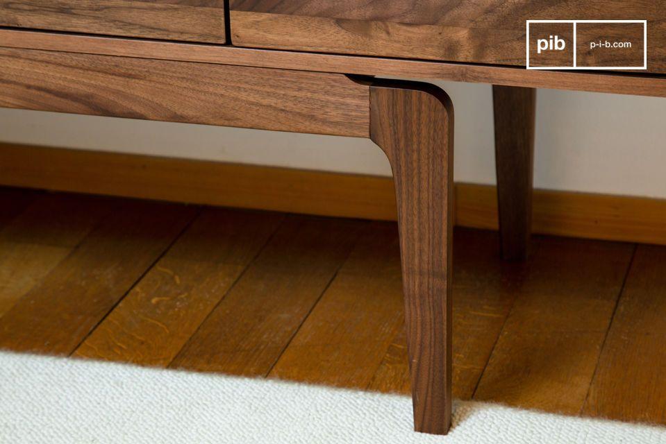 Neliö walnut sideboard - 4