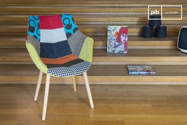 Neo Patchwork Armchair