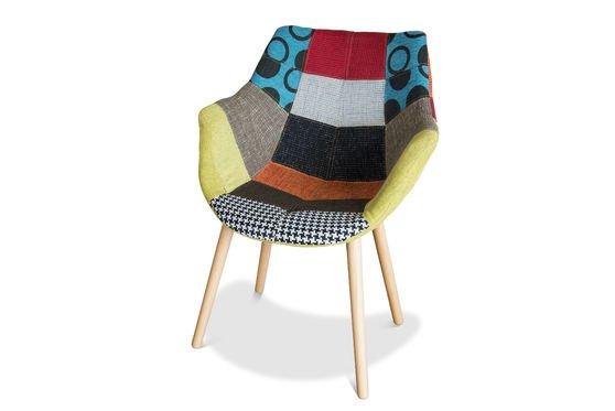 Neo Patchwork Armchair Clipped