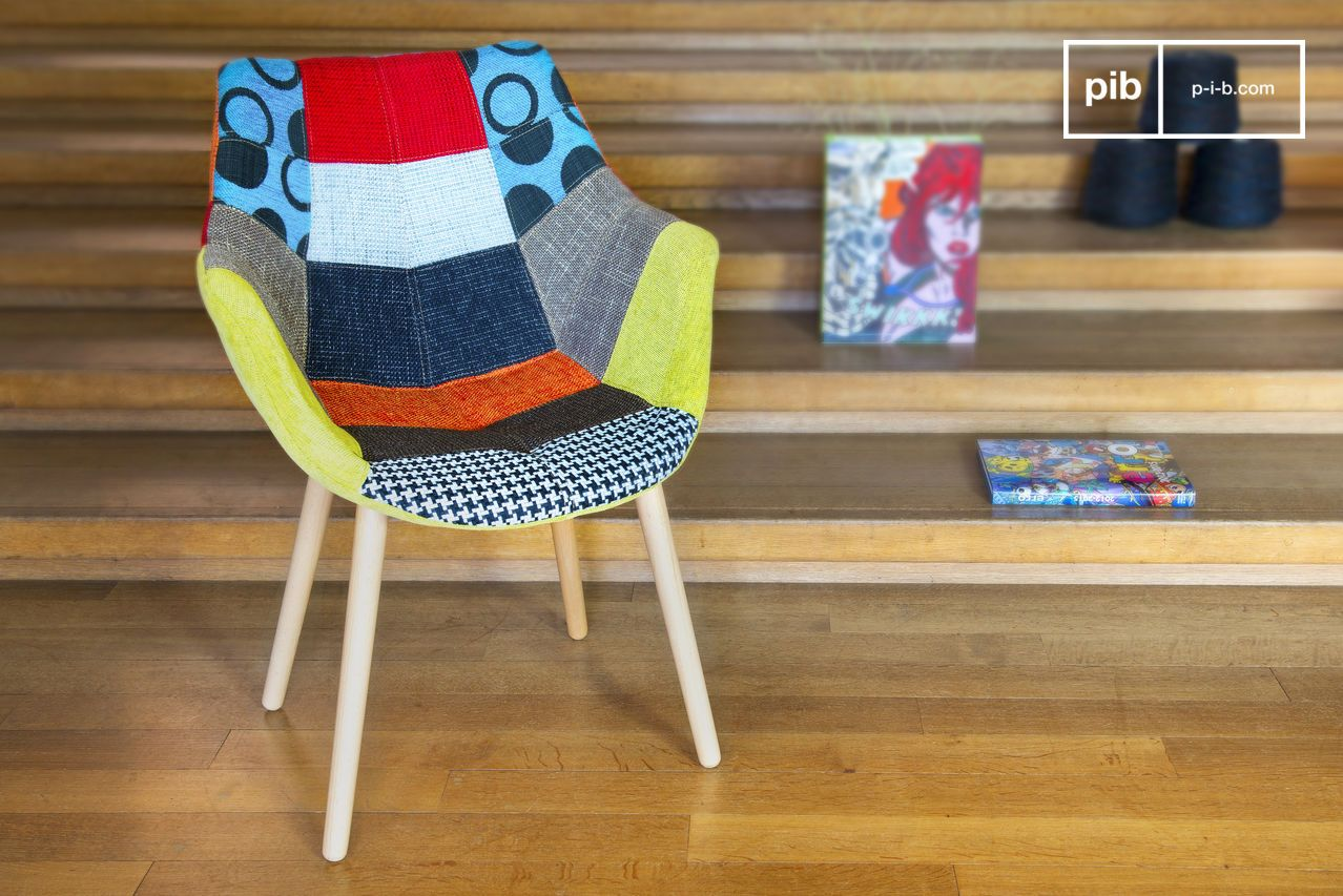 neo patchwork armchair 1280