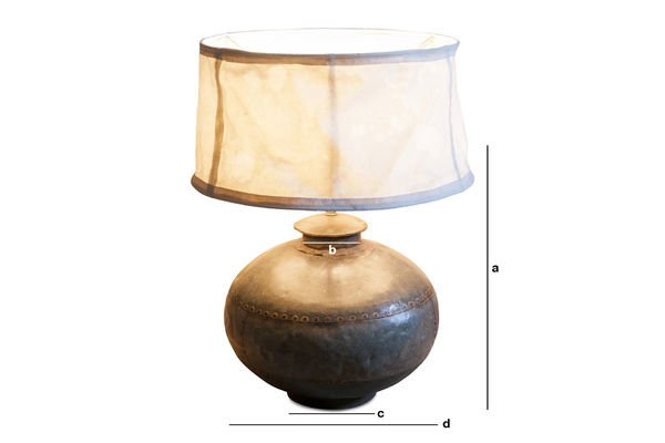 Product Dimensions Nessos Table lamp