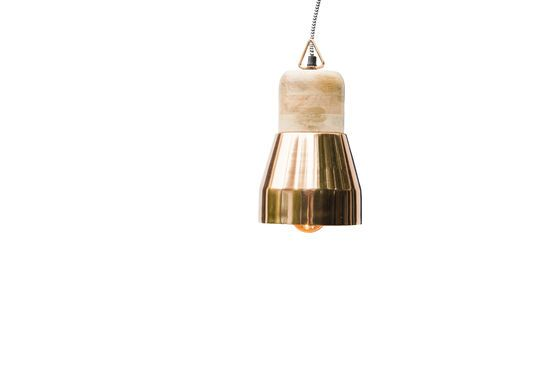 Newark copper hanging light Clipped