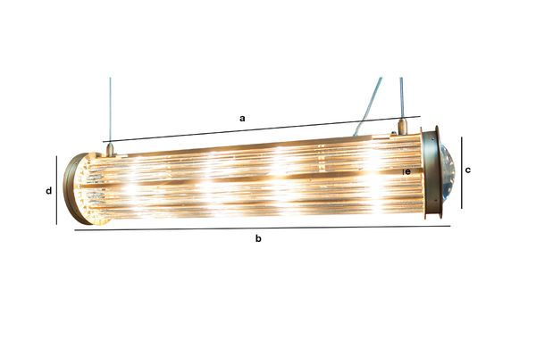 Product Dimensions Newton pendant lamp