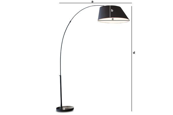 Product Dimensions Nexö floor lamp