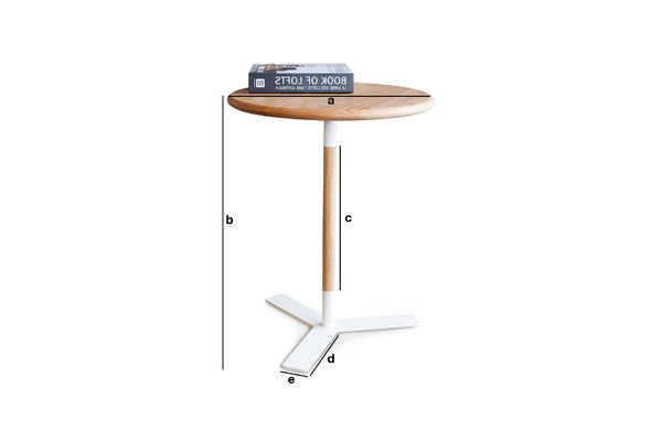 Product Dimensions Ninféa side table
