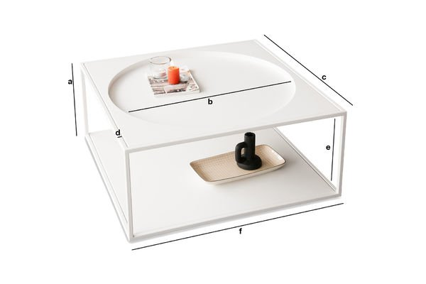 Product Dimensions Nölbis coffee table