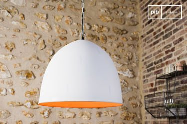 Nölia White Pendant Light