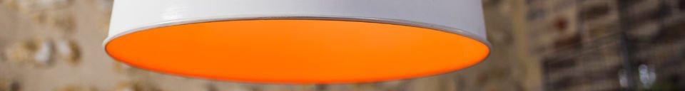 Material Details Nölia White Pendant Light