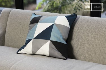 Norway blue cushion