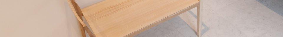 Material Details Nöten ash bench