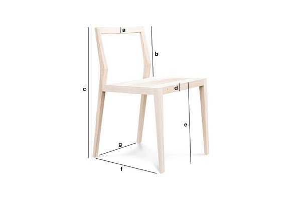 Product Dimensions Nöten extralight chair