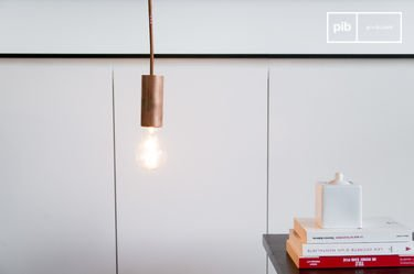 NUD Copper pendant light