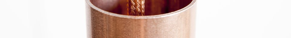 Material Details NUD Copper pendant light
