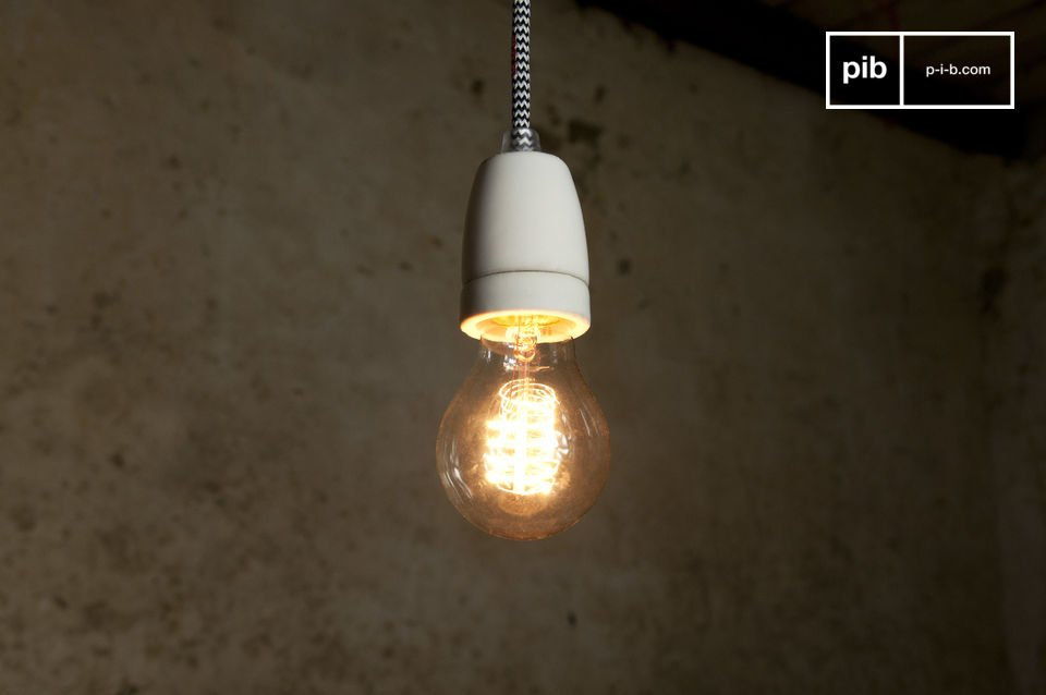 The NUD can be used as is as a ceiling suspension light