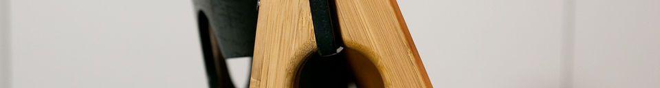Material Details Numéro 1 black chair