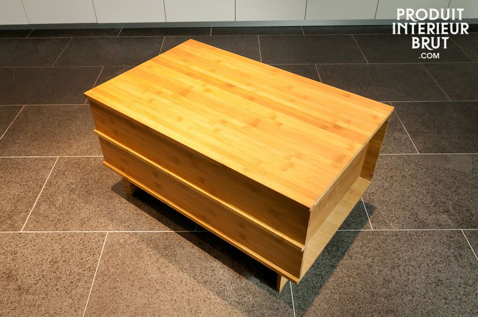 The Number 1 bench acts as both seat and storage chest