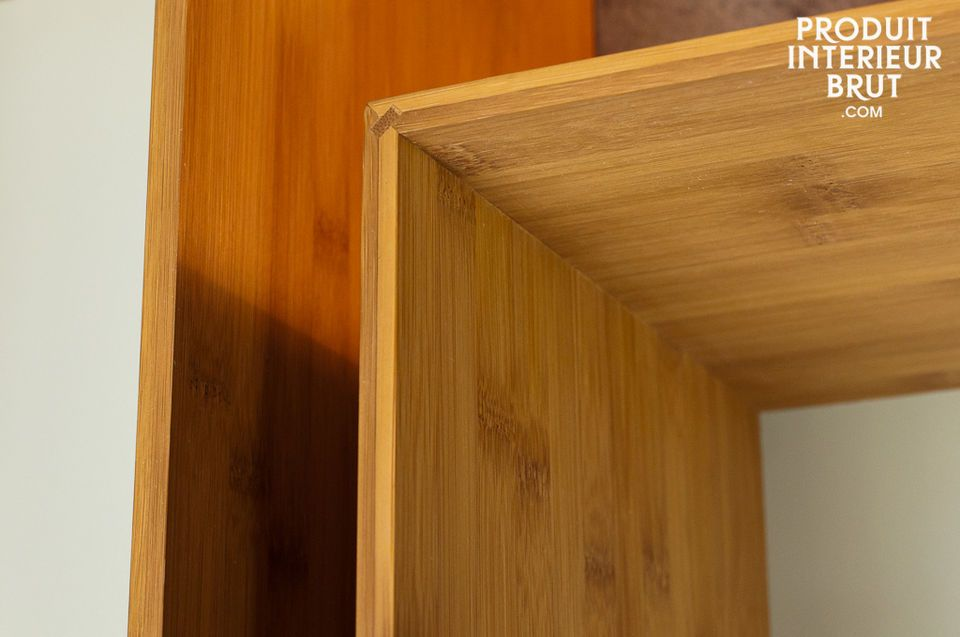 The Number 1 wall bookcase redefines the concept of a traditional wooden bookcase