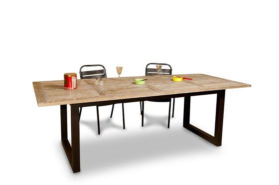 Oak table Cluny Clipped