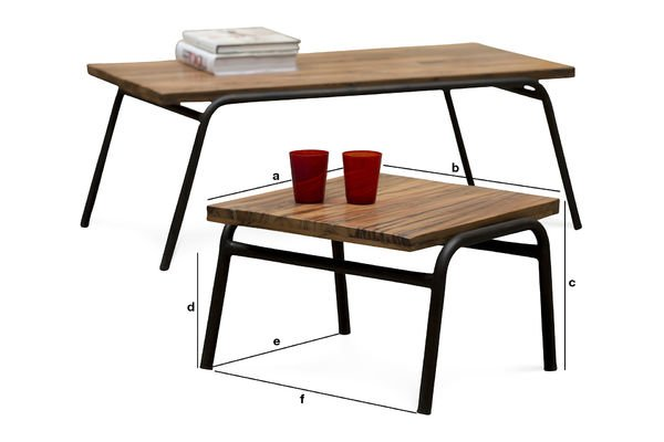 Product Dimensions Occasional table Regular