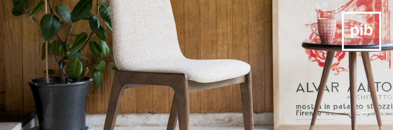 Old collection of modern scandinavian dining chairs