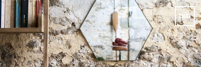 Old collection of scandi design mirrors