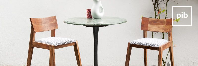 Old collection of scandinavian dining tables