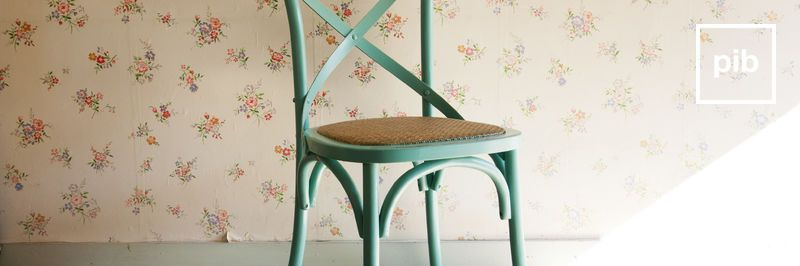 Old collection of shabby chic chairs