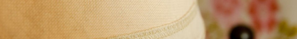Material Details Oléron beige lampshade 25 cm