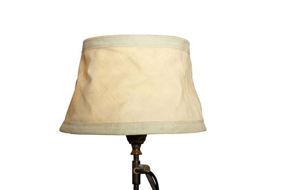Oléron beige lampshade 25 cm Clipped