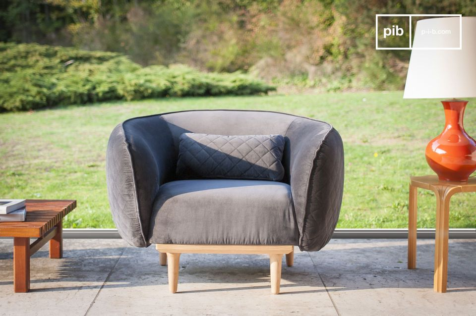 Olson Curved Armchair