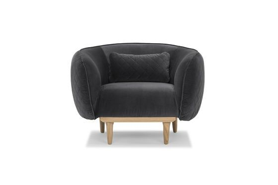 Olson Curved Armchair Clipped