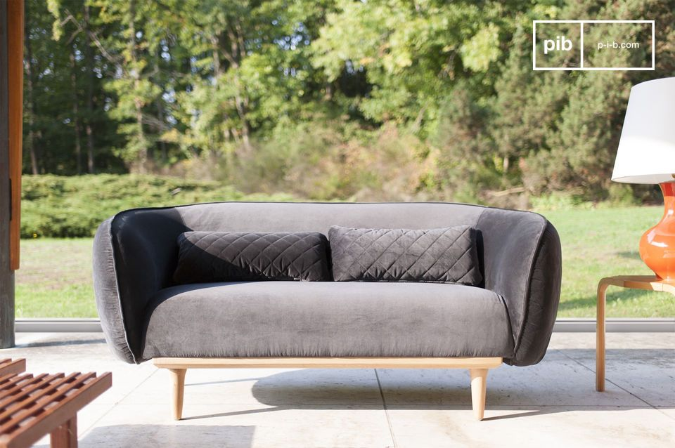 Olson Curved Sofa