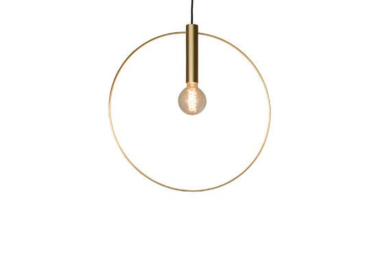 Oohalt gold suspension lamp Clipped