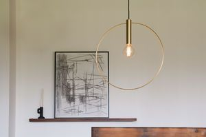 Oohalt gold suspension Large