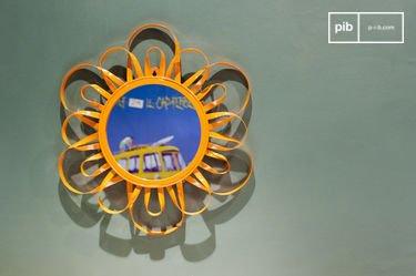 Orange Aurinko Mirror