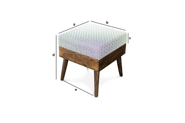 Product Dimensions Ottoman Londress