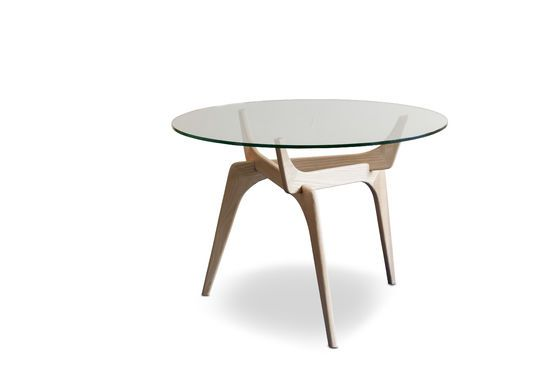 Parkano glass round table Clipped