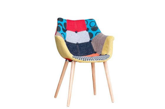 Patchwork armchair Clipped