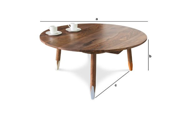 Product Dimensions Pencil coffee table