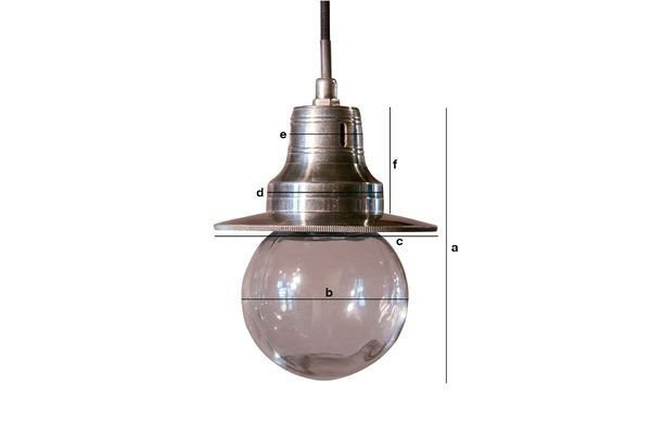 Product Dimensions Pendant lamp Charlie