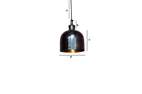 Product Dimensions Pendant lighting Nickel Warhead