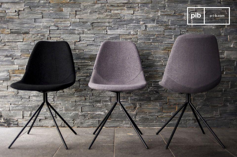 Piramis grey chair