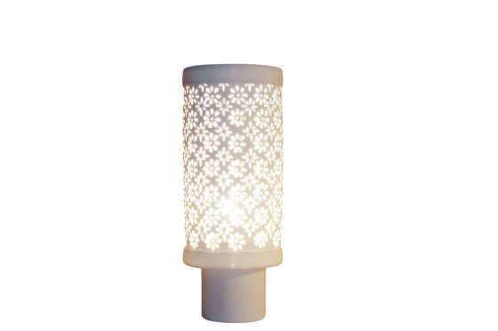 Porcelain Lamp Clipped