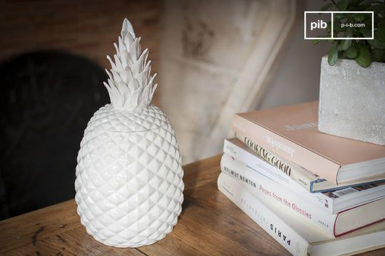Porcelain Pineapple Pot