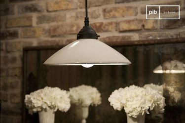 Pornic ceramic suspension lamp