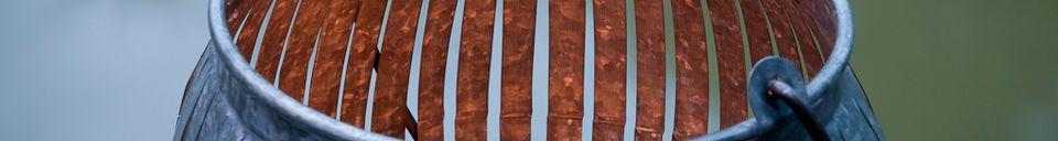 Material Details Porquerolles lantern